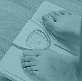 osoba na wadze